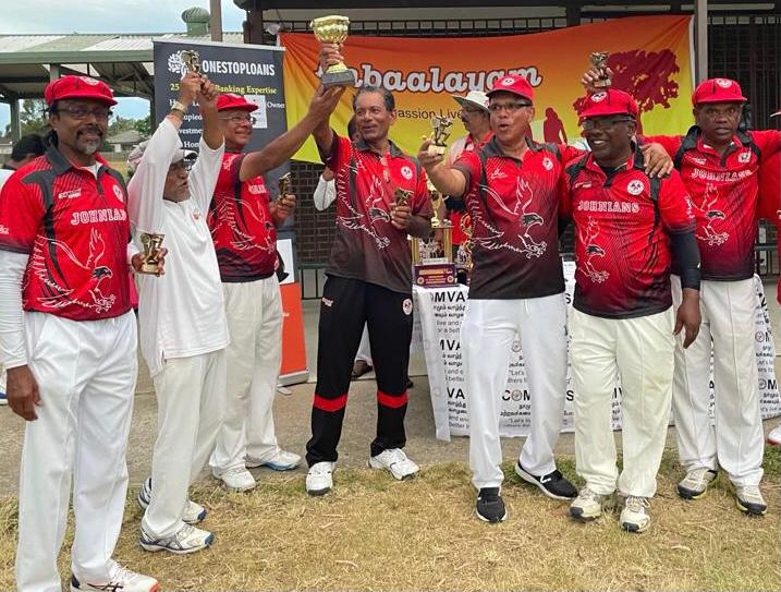 Our Vintage (Over 60) Eagles team won the 2021 Anbaalayam 7a side cricket tournament on Australia day.