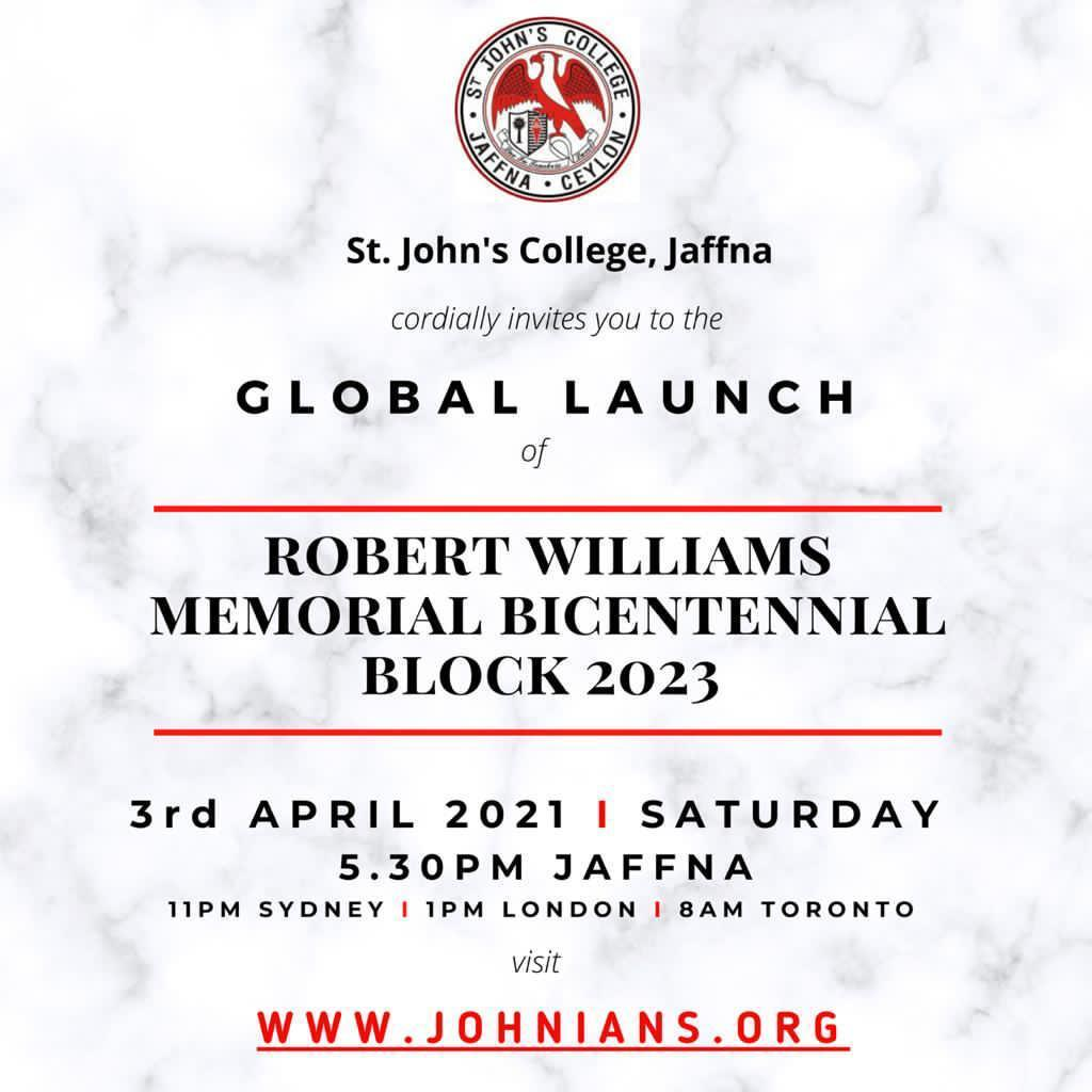 If you missed the global launch for Robert Williams MBB, please use the link to watch it.